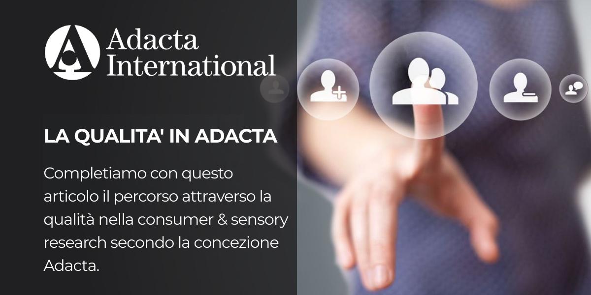 La qualità in Adacta II